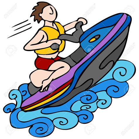 cartoon boat ski ski boat clipart 101 clip art