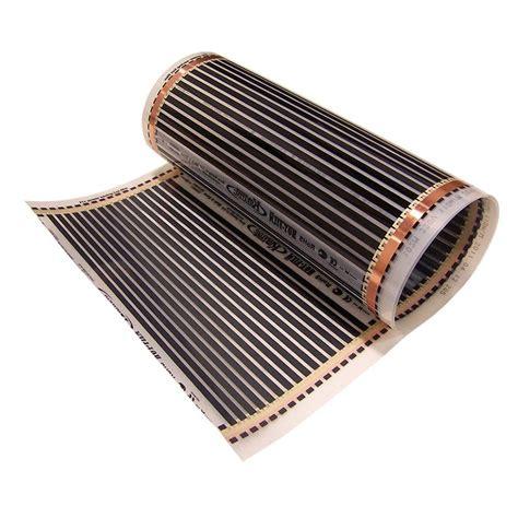 idealheat  ft       volt radiant floor heating film rsg     home depot