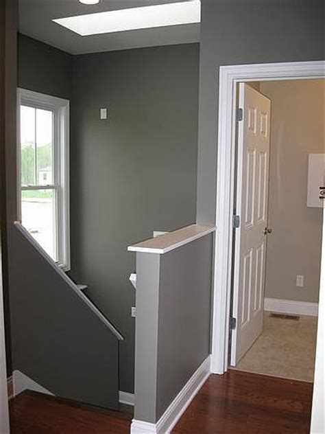 half wall staircase half wall stairs home