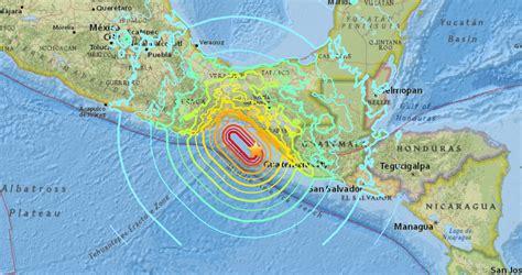 earthquake oaxaca sciency thoughts magnitude 8 1 earthquake off the coast