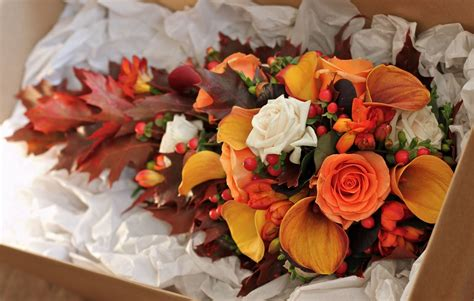 Fall Wedding Flower Ideas by Wedding Flowers Alison S Autumn Wedding Flowers