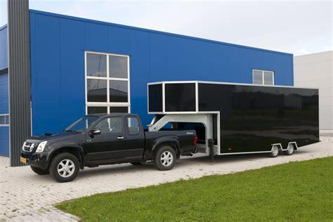 mobile werkstatt fifth wheel europe 187 geschlossene anh 228 nger