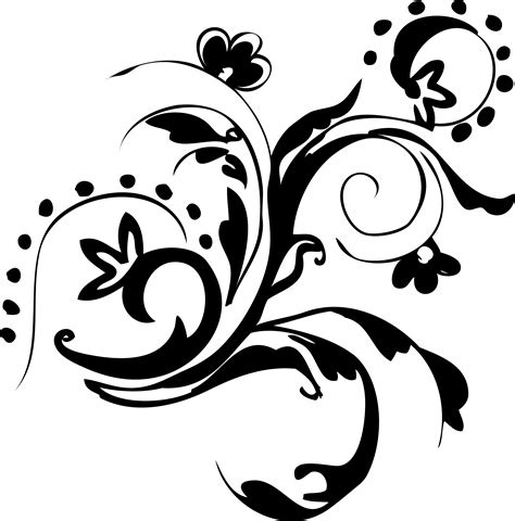 vector floral png clipart library