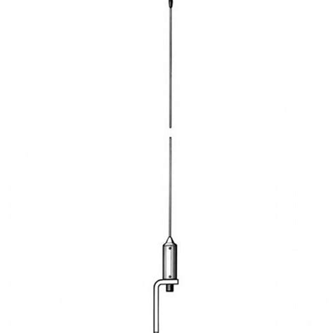 vhf antennas procom 1 08m whip marine vhf antenna with low weight masthead mounting ma21sc