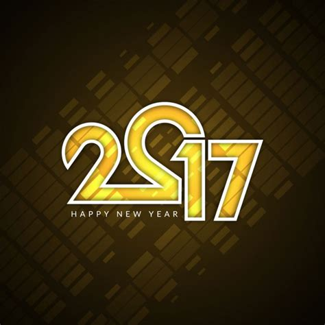 modern new year modern new year 2017 background vector free