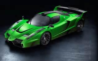 Green Enzo Green Car