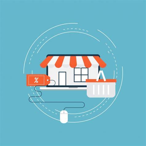 background online shop online shopping background vector free download