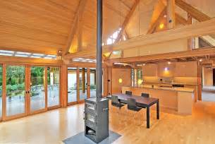 Wood Home Interiors by Cabin Chic Mountain Home Of Glass And Wood