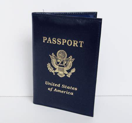 Cover Passport Line Premium usa passport cover id card leather holder premium pink