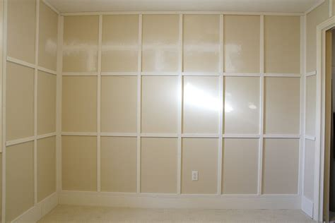 Adding Wainscoting by Adding Wainscoting To The Home Office Chris