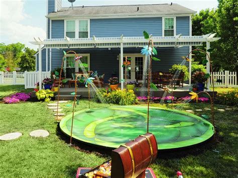 Hgtv Backyard Makeover by Magical Backyard Makeovers Landscaping Ideas And