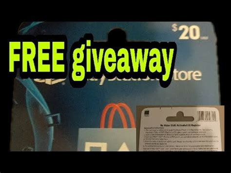 Psn Card Giveaway - psn card giveaway youtube