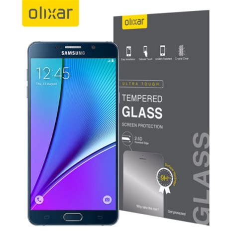 Obliq Clear Screen Protector For Samsung Galaxy Note 3 olixar samsung galaxy note 5 tempered glass screen
