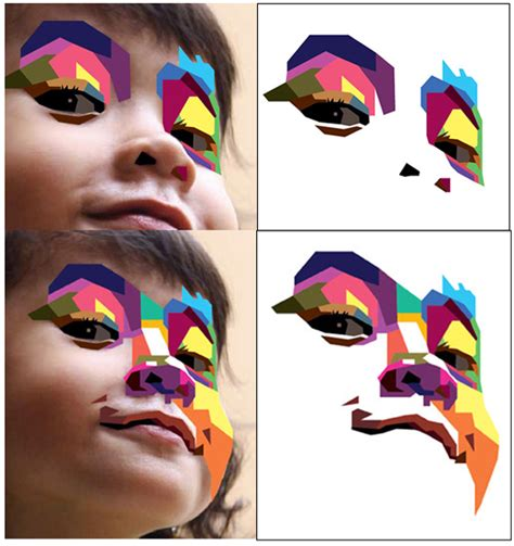 tutorial wpap photo shop how to create a geometric wpap vector portrait in adobe