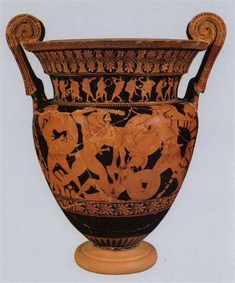 Euphronios Vase by Arcahic Vases Name Date And Dimensions At Of