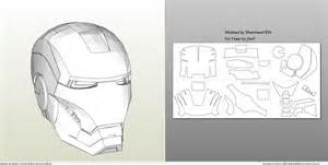 foamcraft pdo file template for iron man mark 4 amp 6