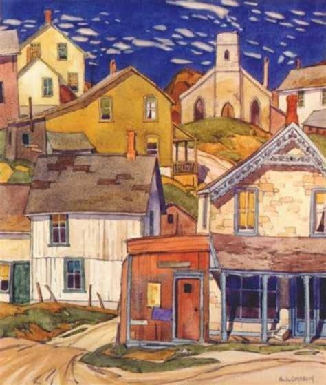 art for house a j casson hillside village