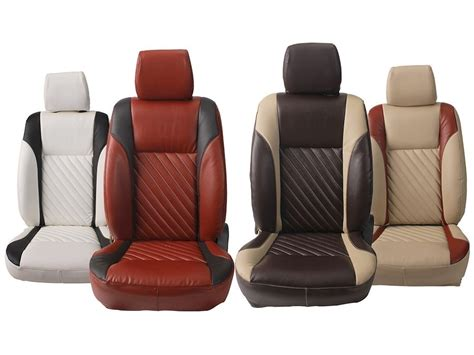 types of car seat covers auto custom fit leatherette 3d car seat covers for maruti