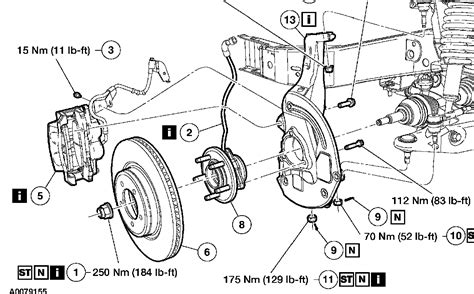 front wheel diagram pin ford edge front brake components parts diagram car on