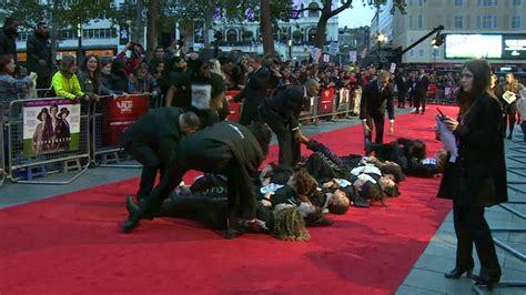 film it london london film festival feminist protesters storm