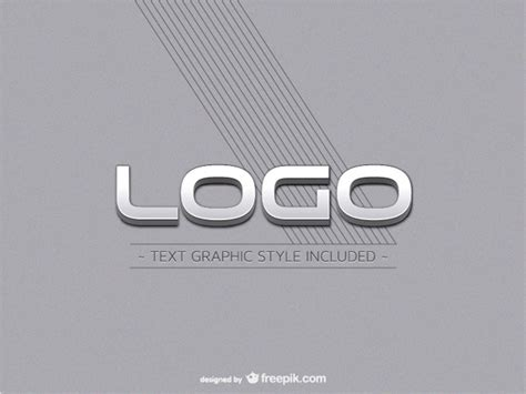 metal engraved mockup metallic logo mockup vector free