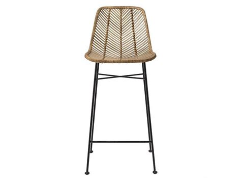 bloomingville rattan barstool chair living and co