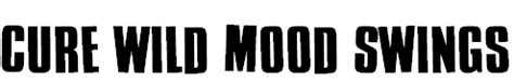 wild mood swings free bands fonts download bands fonts download free