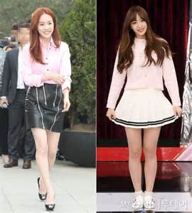 Blouse Hani han ji min vs hani in pink blouses hancinema the