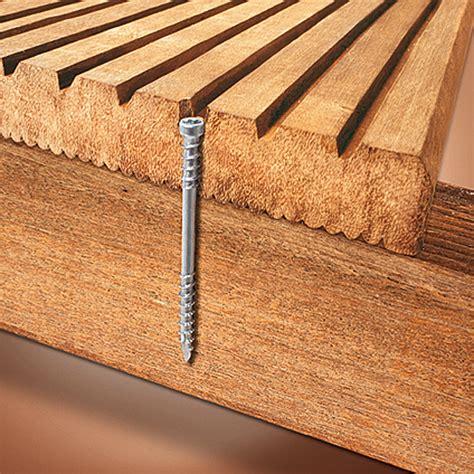 Terrassendielen Schrauben Edelstahl spax terrassenschraube t plus 5 x 60 mm edelstahl