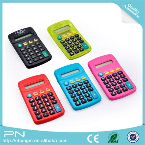 promotion christmas calculator promotional gift for kids