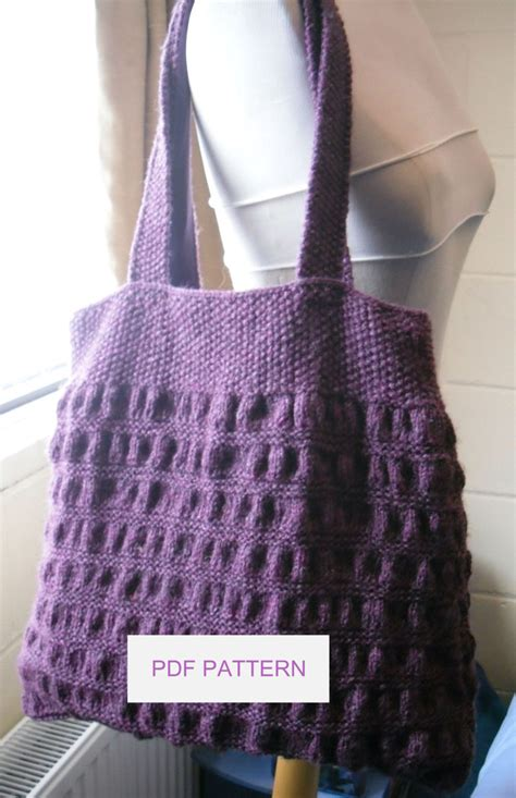 tote bag knitting pattern tote knitting patterns in the loop knitting