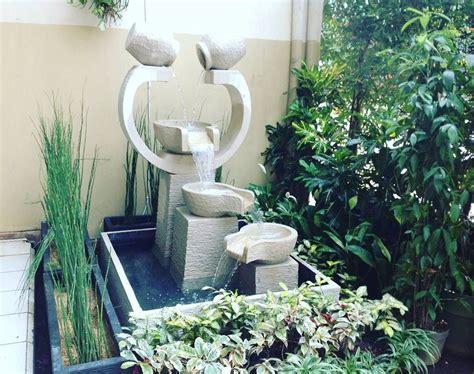 Air Mancur Kolam model taman kolam minimalis beserta air mancur taman