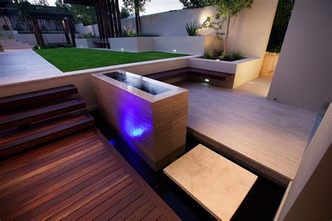 home lighting design perth stunning outdoor living area bicton house in perth australia