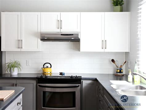 black laminate kitchen cabinets a budget friendly kitchen update white gray and gorgeous