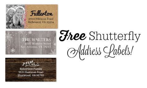 Where Can You Buy A Shutterfly Gift Card - shutterfly code free address labels southern savers