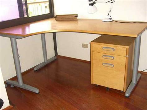 simple design of l shaped desk ikea home interior design