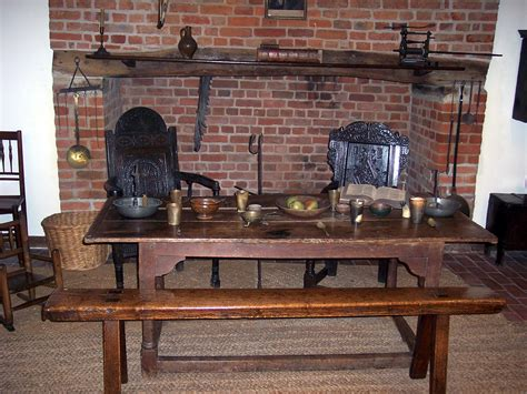 Plank Dining Room Table style living in the past
