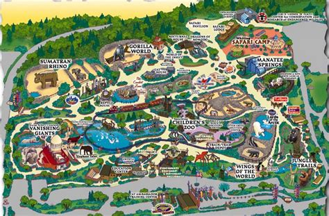 columbus zoo map printable columbus zoo map images