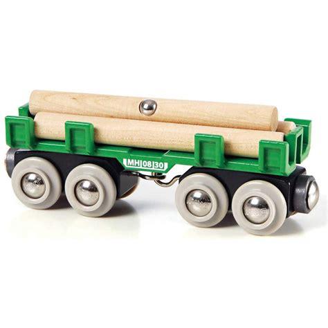 brio toys brio lumber loading wagon train set accessory wooden toy