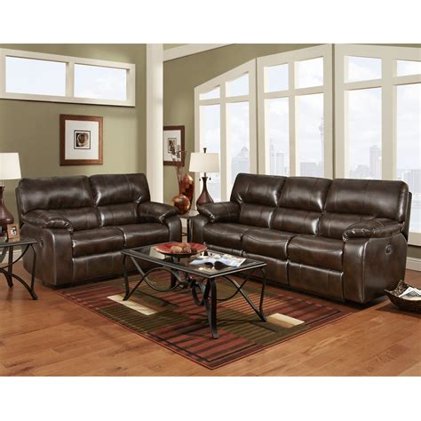 reclining living room furniture sets mfo reclining living room set in canyon chocolate leather