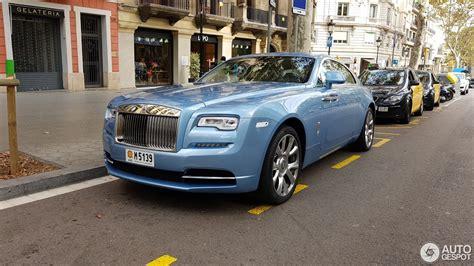 Baby Blue Rolls Royce by Rolls Royce Wraith Series Ii 9 November 2017 Autogespot