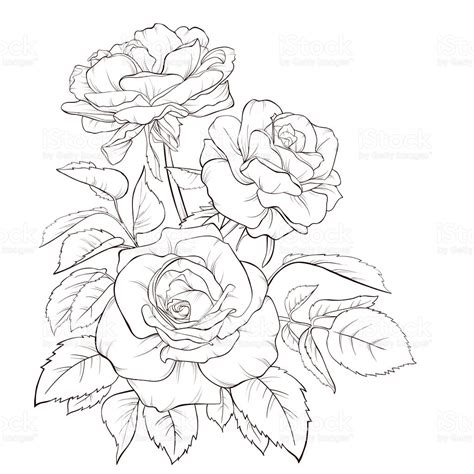 rose bouquet tattoo product bouquet flower painted image flower