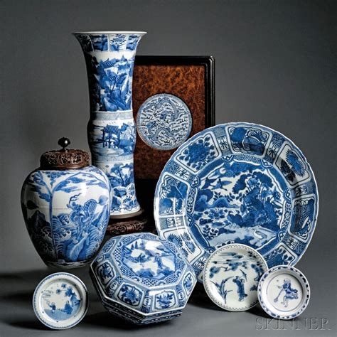 Blue White Porcelain L by The Estate Of L Rosenberg Reception