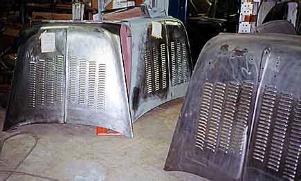 Big Car Garage custom louvers by east coast chevy