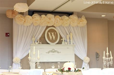 Home Wedding Decoration Ideas 93 Rustic Chic Decor Rustic Chic Baptism Birthday Via Karas Ideas The Place For