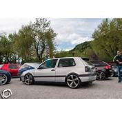 Silver VW Golf Mk3 With Audi Rims  Tuning