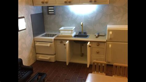 Real Working Miniature Kitchen by 3d Printing Miniature Kitchen Sink Real Working
