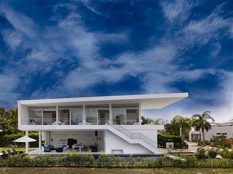 house exterior design photo library wei 223 e villa in der karibik betonlana report betonlana