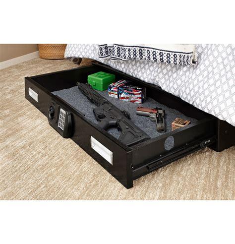 under bed gun storage snapsafe 75401 under bed safe l 75401