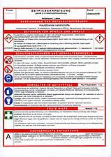 betriebsanweisung regale arbeitssicherheit sicherheitsfachkraft fachkraft f 252 r
